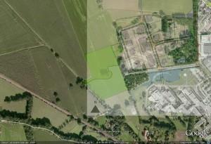 Stedebouwkundigplan Beatrixpark 2, 29 april 2009 Winterswijk, luchtfoto, naast het Arresveld